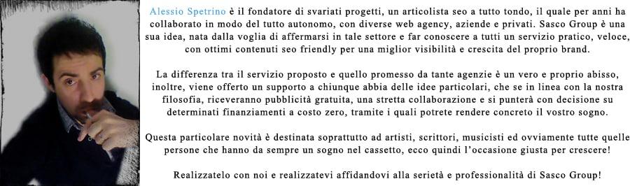 Alessio Spetrino seo
