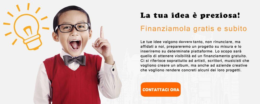 finanziare progetti crowdfunding italia